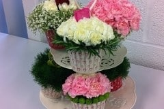 bouquet display